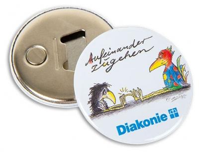 Diakonie-Flaschenöffner