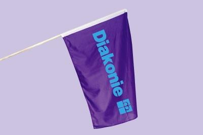 Stabflagge 10er-Packung