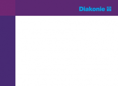 Haftnotizen mit Diakonie-Logo