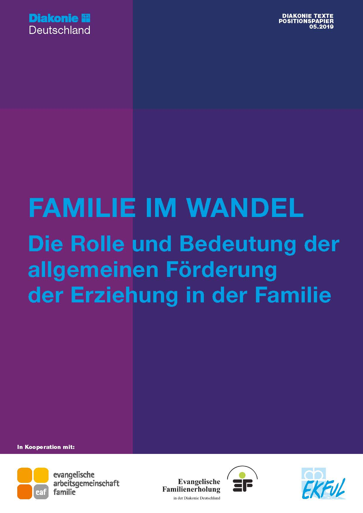Diakonie Texte 05.2019: Familie im Wandel