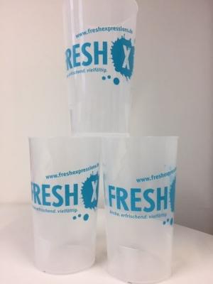 Fresh X - Becher
