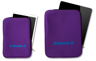 Klimaneutrale Tablet-Tasche, Format ca. 20 x 29 cm