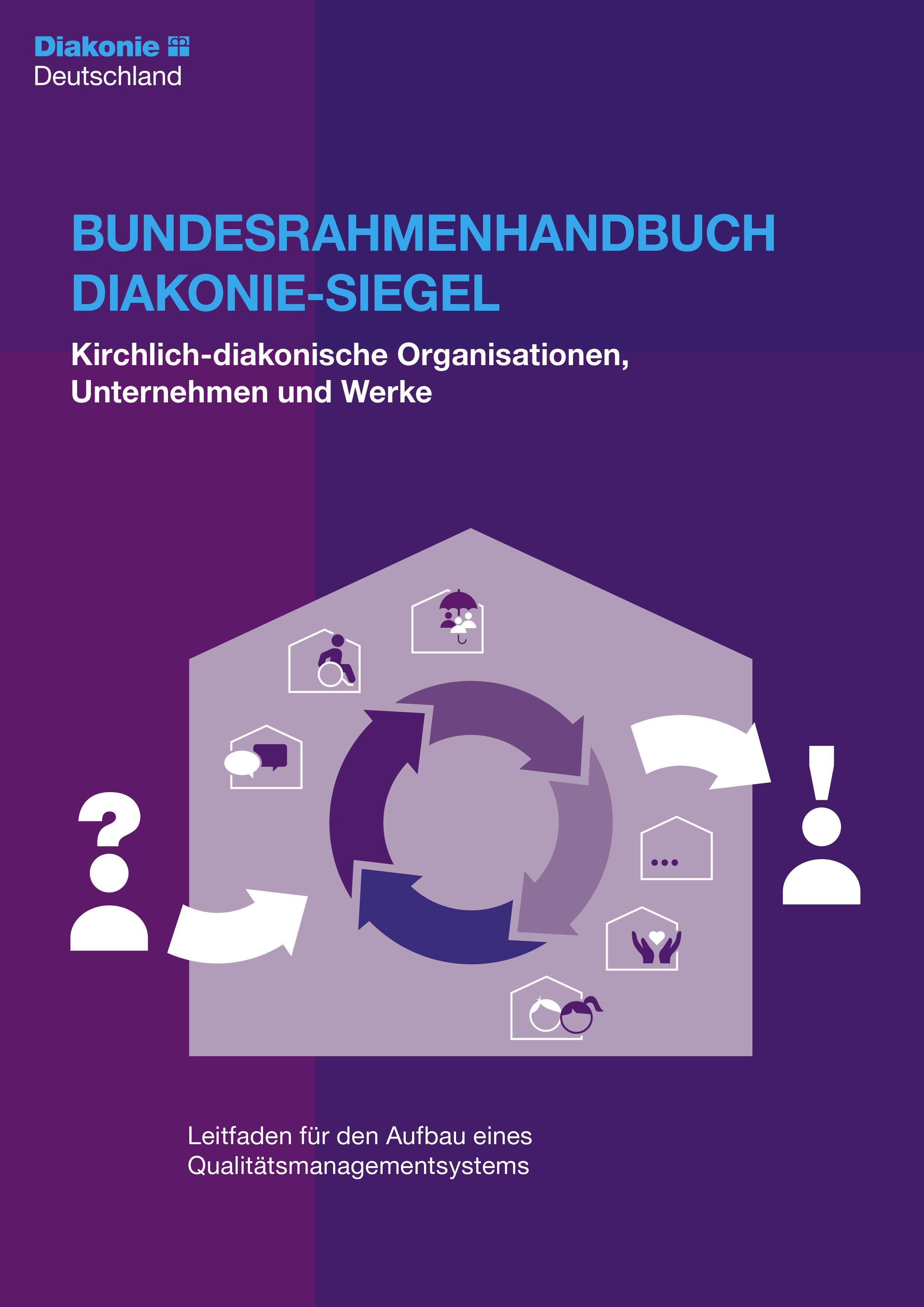 Kirchlich-diakonische Organisationen, Unternehmen und Werke  - Bundesrahmenhandbuch Diakonie-Siegel