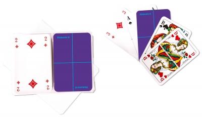Kartenspiel Doppel-Rommé