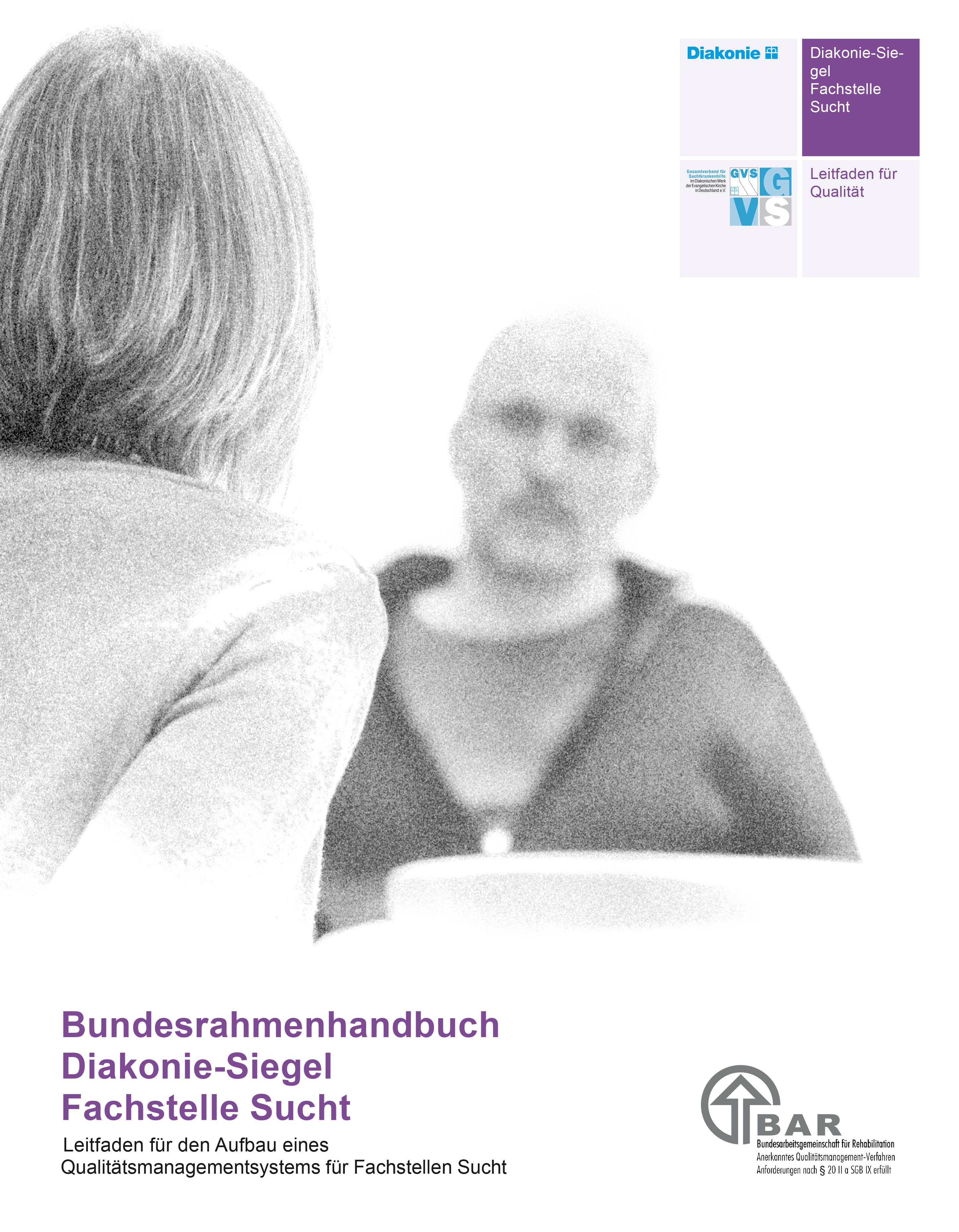Bundesrahmenhandbuch Diakonie-Siegel Fachstelle Sucht