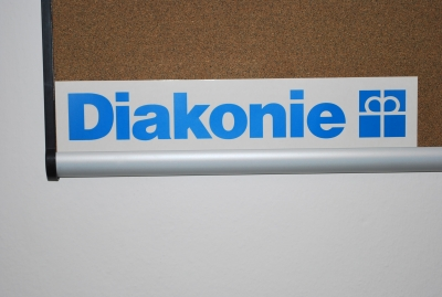 Aufkleber Diakonie-Logo