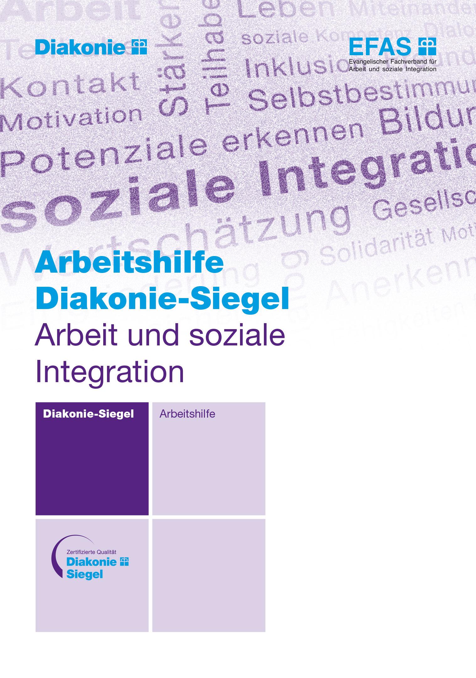 Arbeitshilfe Diakonie-Siegel