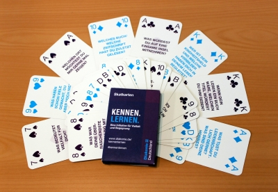 Kennen.Lernen.-Skatkartenspiel